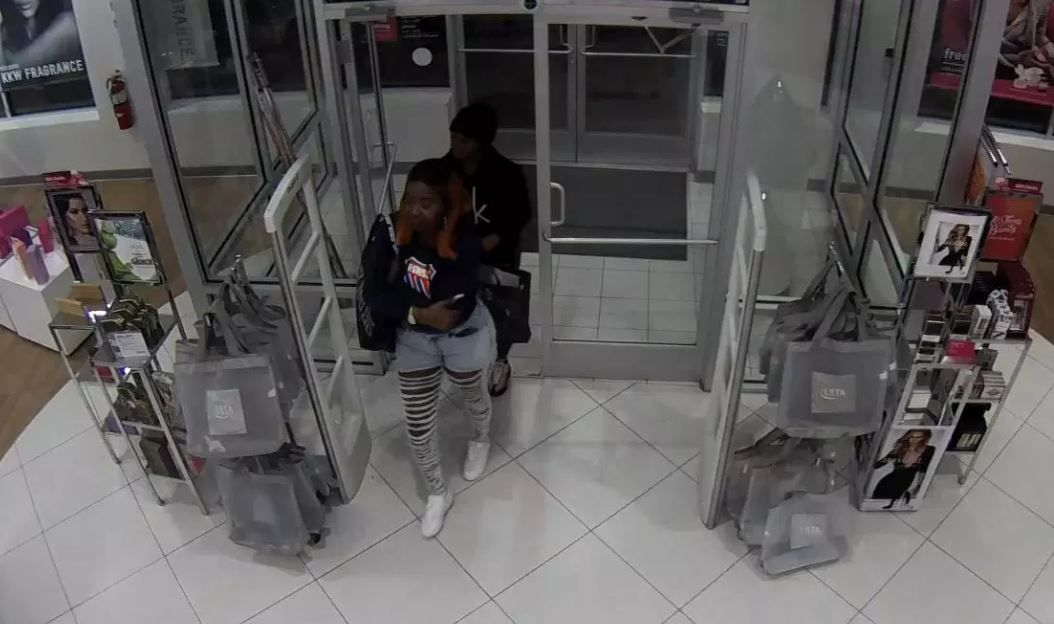 The thieves have stolen cosmetics from the same Ulta store on three different occasions.