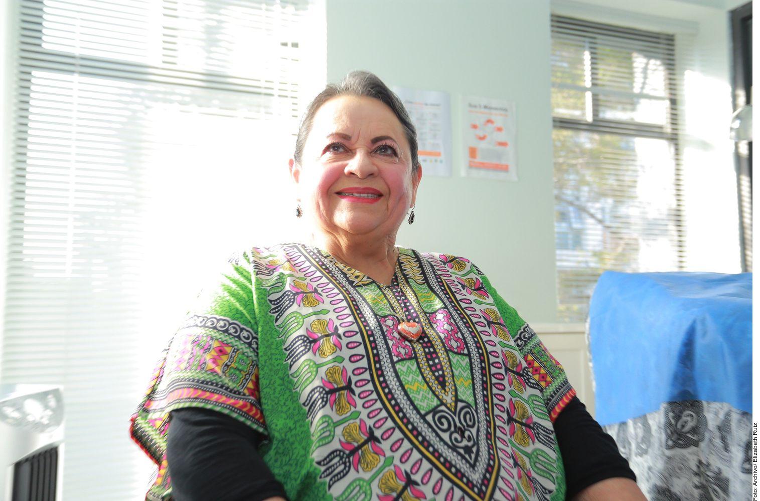 Lucila Mariscal comentó que forma parte de las personas de riesgo ante la pandemia, ya que tiene diabetes.
