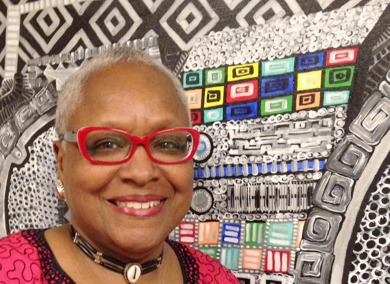 Vicki Meek is retiring from her job leading the South Dallas Cultural Center to resume a full-time career as an artist.