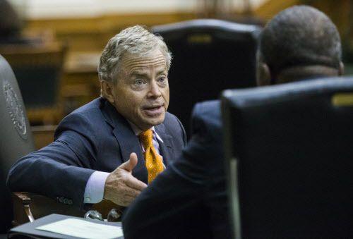 El senador Don Huffines será el blanco de una protesta en Plano por su apoyo a la ley SB4. DMN