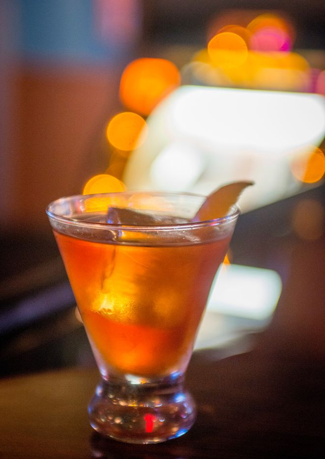 Cocktail at Cosmo's in Dallas, Texas on July 11, 2018. (Robert W. Hart/Special Contributor)