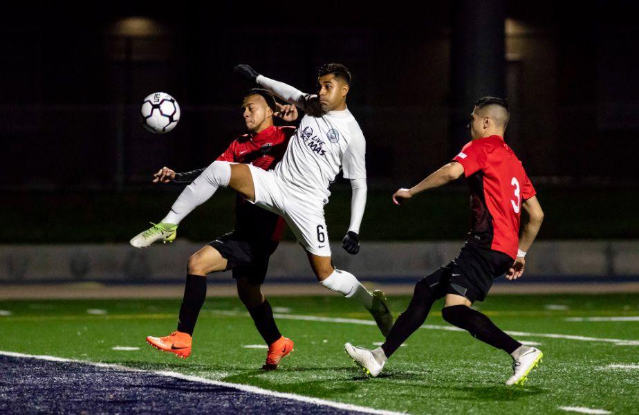 Inocentes FC de Fort Worth terminaron en segundo lugar nacional de la UPSL. Foto California United Strikers FC.