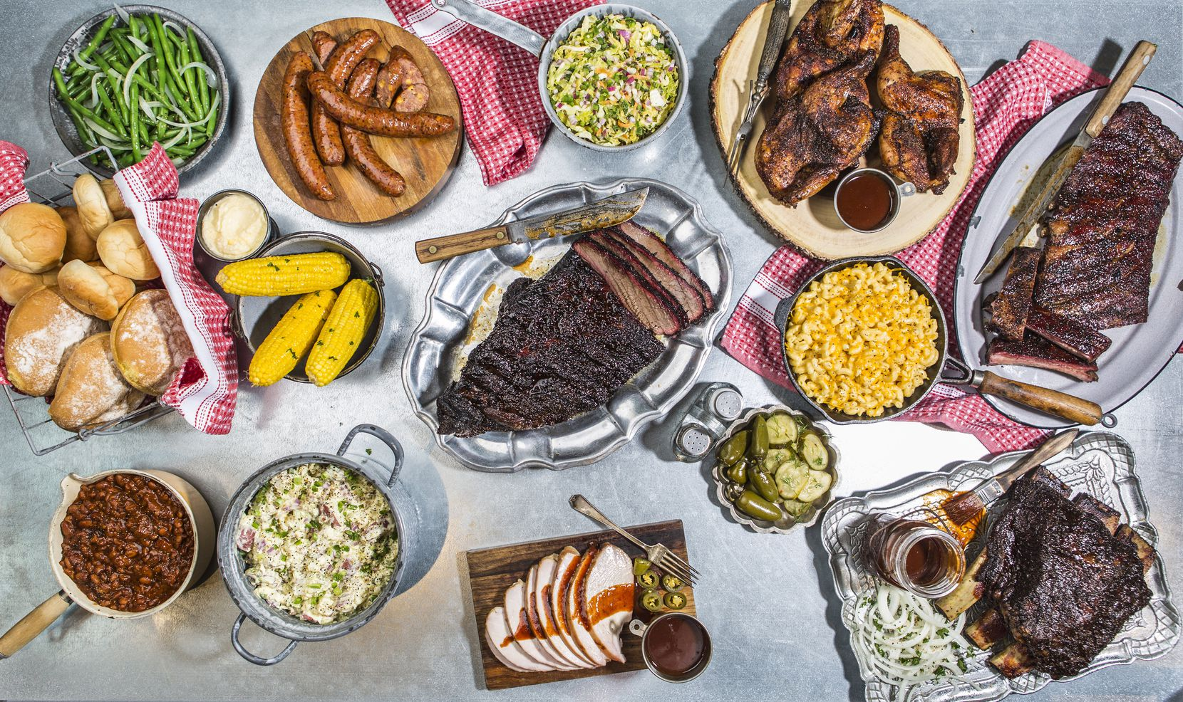 Ten 50 BBQ is offering an $80 Easter menu that feeds 4-6 people that includes a choice of one meat (brisket, pulled pork or turkey breast), a choice of two sides like brisket baked beans and green beans, six yeast rolls and barbecue.