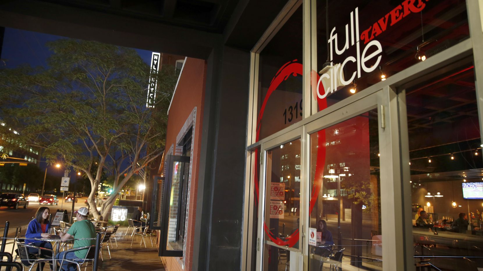 Wave goodbye to Full Circle Tavern. (Pictured here: the original Full Circle Tavern, on South Lamar Street in Dallas.)