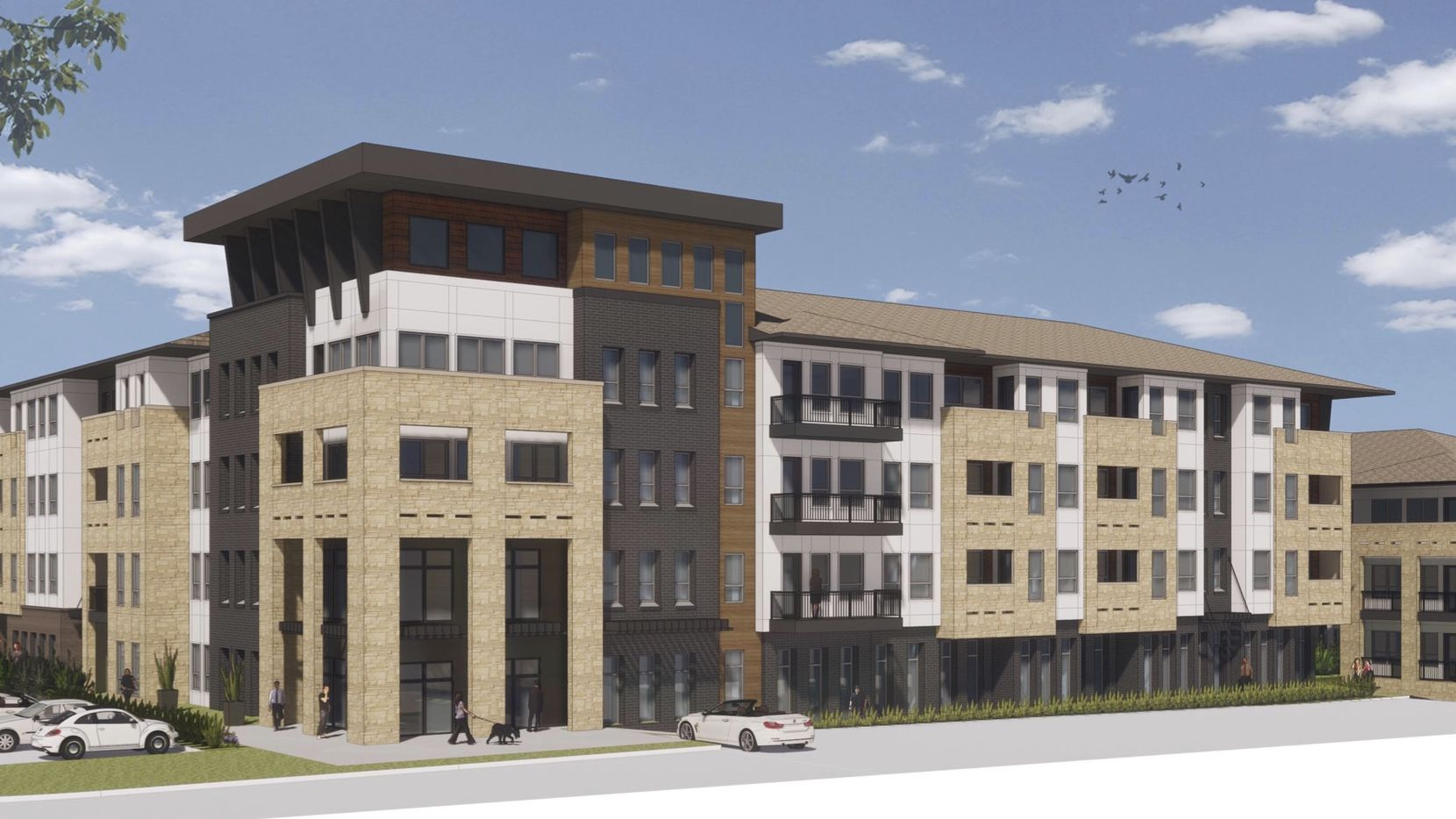The Jefferson Texas Plaza II apartments will open in 2022.