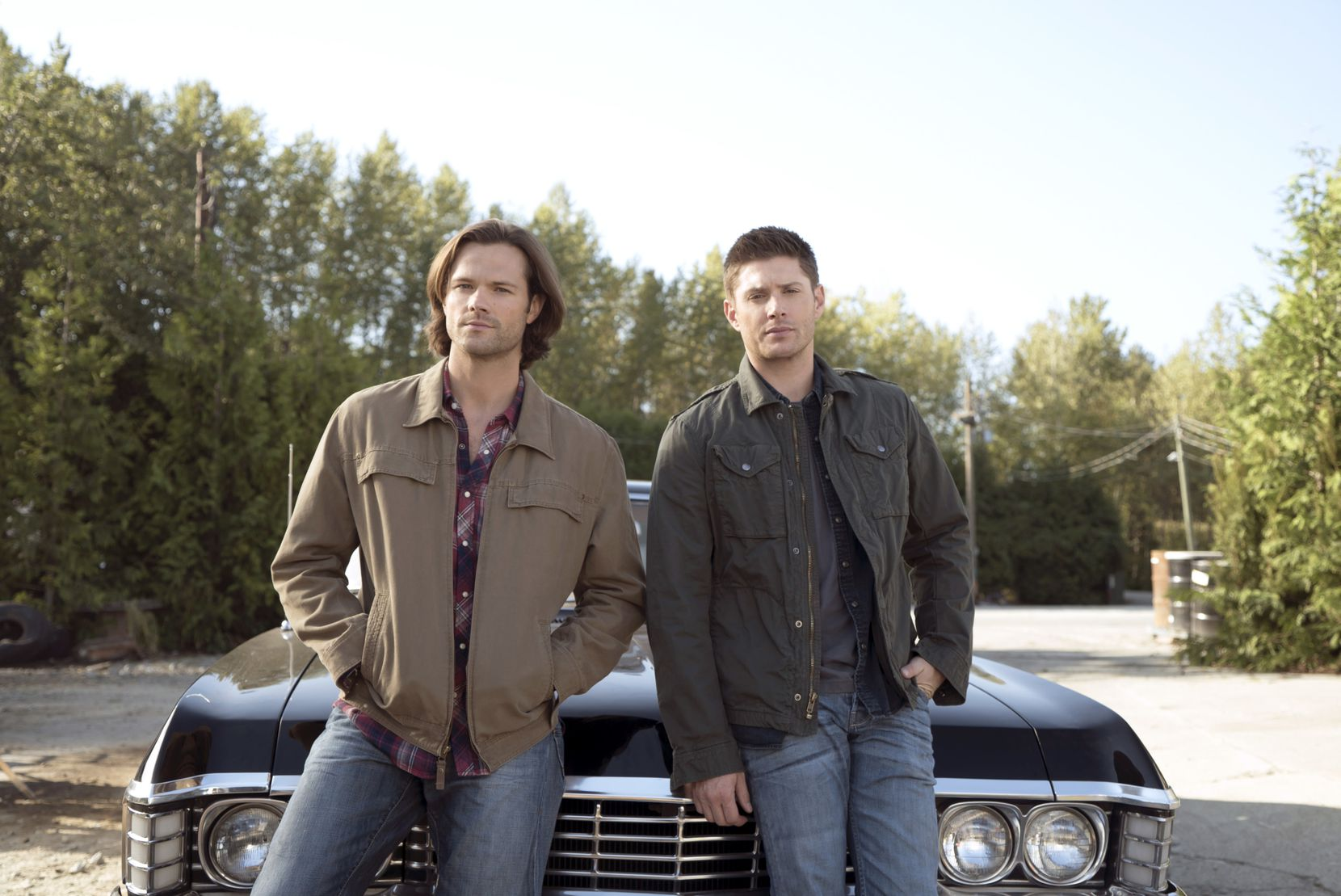 Jared Padalecki, left, and Jensen Ackles star in the CW's 'Supernatural' and were previously scheduled to attend South by Southwest 2020.
