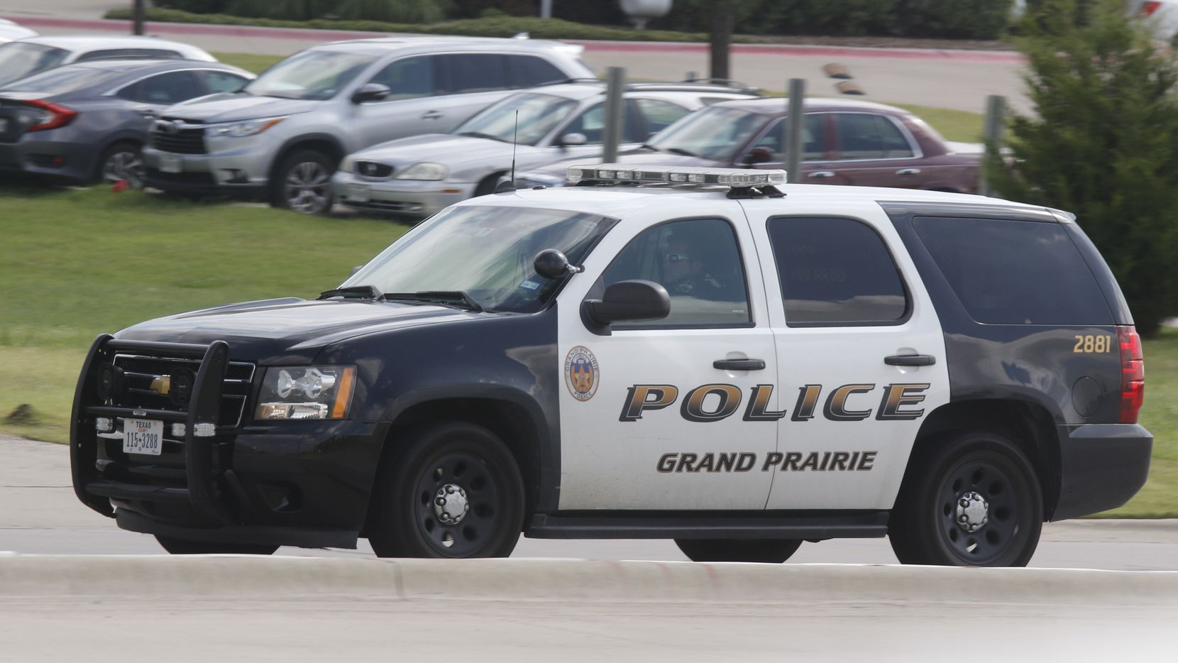 A Grand Prairie police cruiser photographed in 2017.
