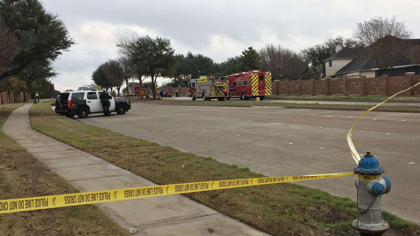 Accidente automovilístico mató a tres jóvenes, dos de ellos estudiantes de preparatoria de Plano, en febrero.