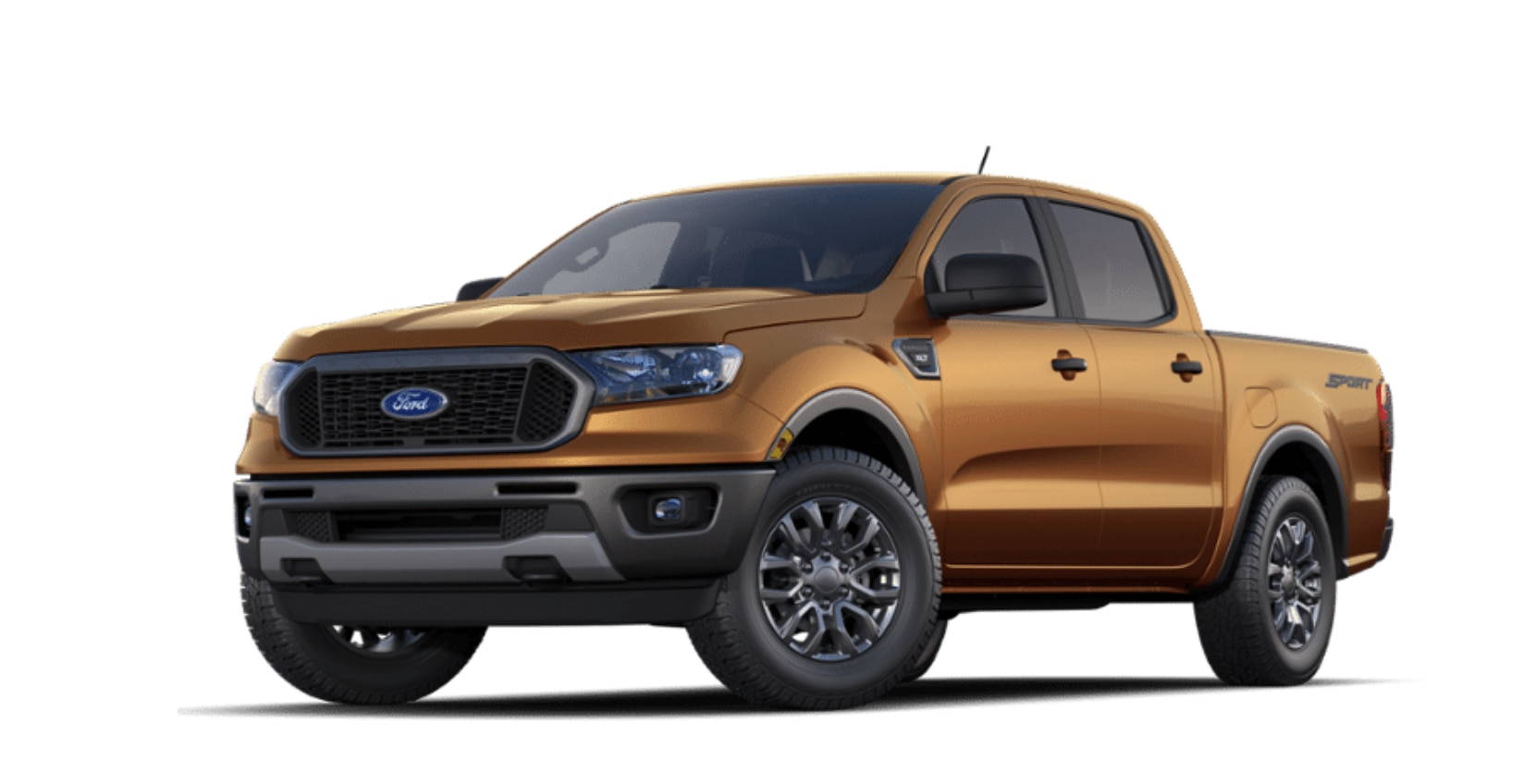 Ford Ranger XLT SuperCrew 4x4 2020