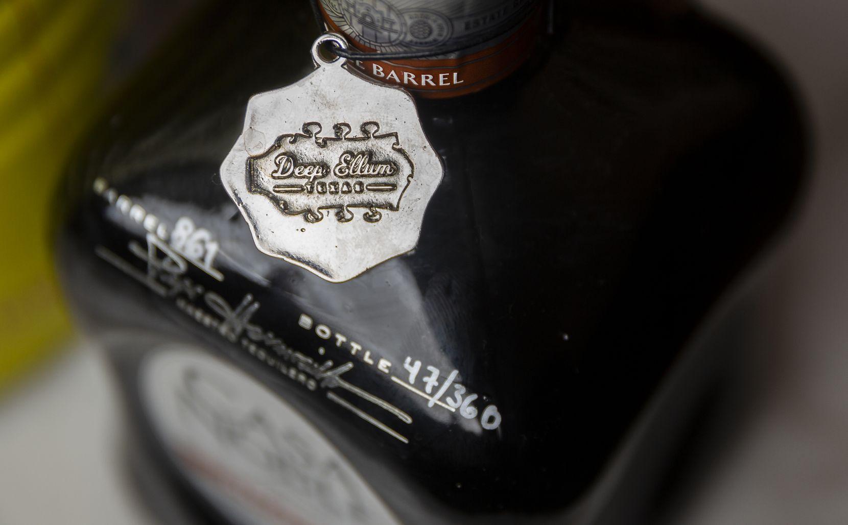 The Casa Noble Reposado Deep Ellum Edition singe barrel tequila at Shoals in Dallas