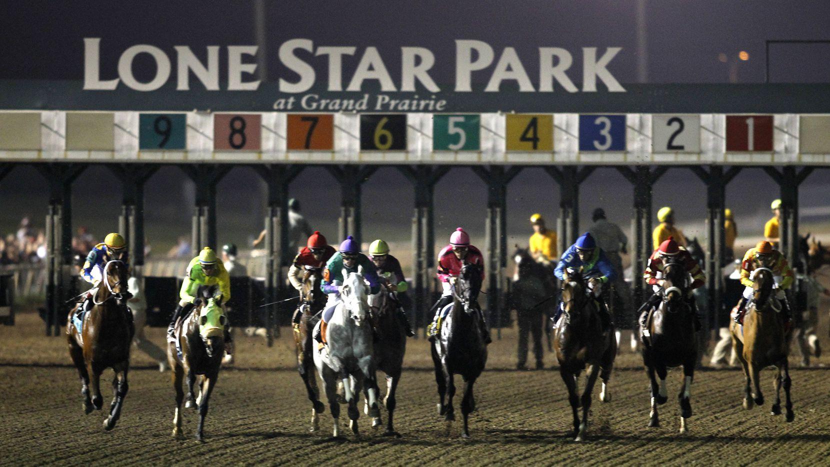 Lone Star Park will kick off the spring race season next week.