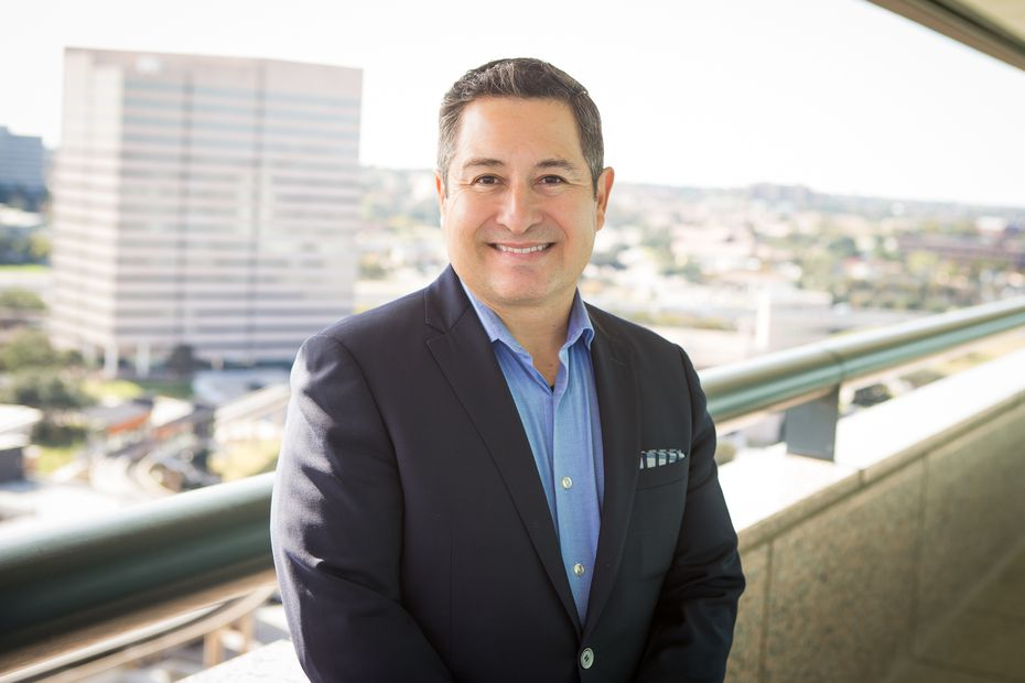 Jorge Corral, Dallas managing director of Accenture. The company has a goal to more than double the number of Black and Latinx employees and managing directors by 2025.