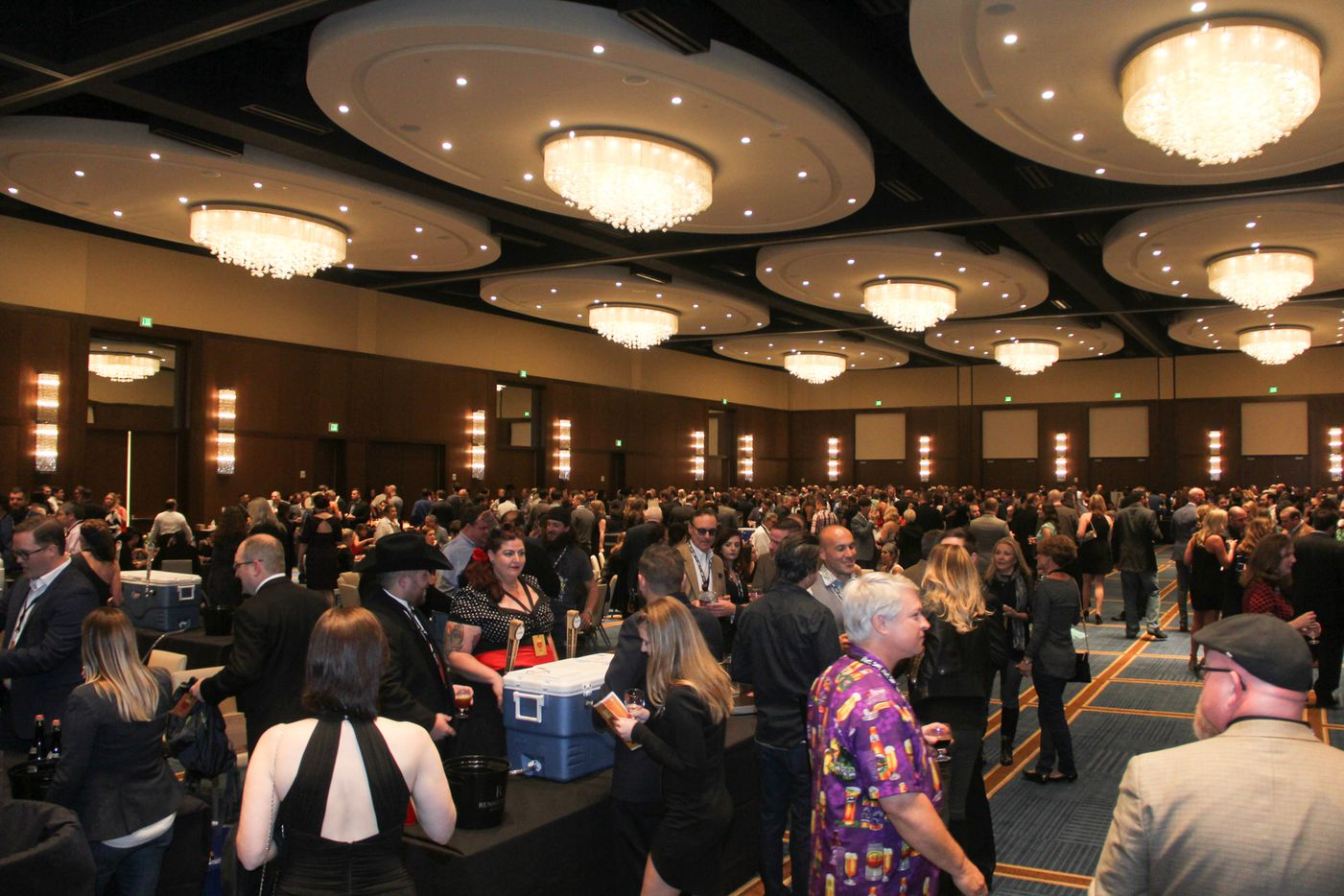 The second annual Brewers ball was held at the Renaissance Dallas hotel on Nov. 13. 2015.