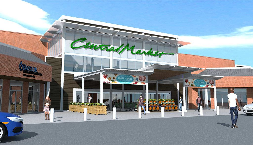 Central Market at Midway Road and W. Northwest Highway will open in September 2018.