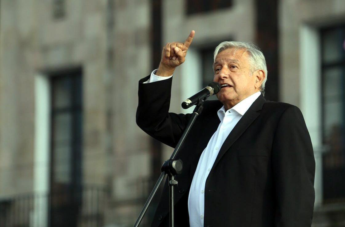 El presidente electo de México Andrés Manuel López Obrador.(AGENCIA REFORMA)
