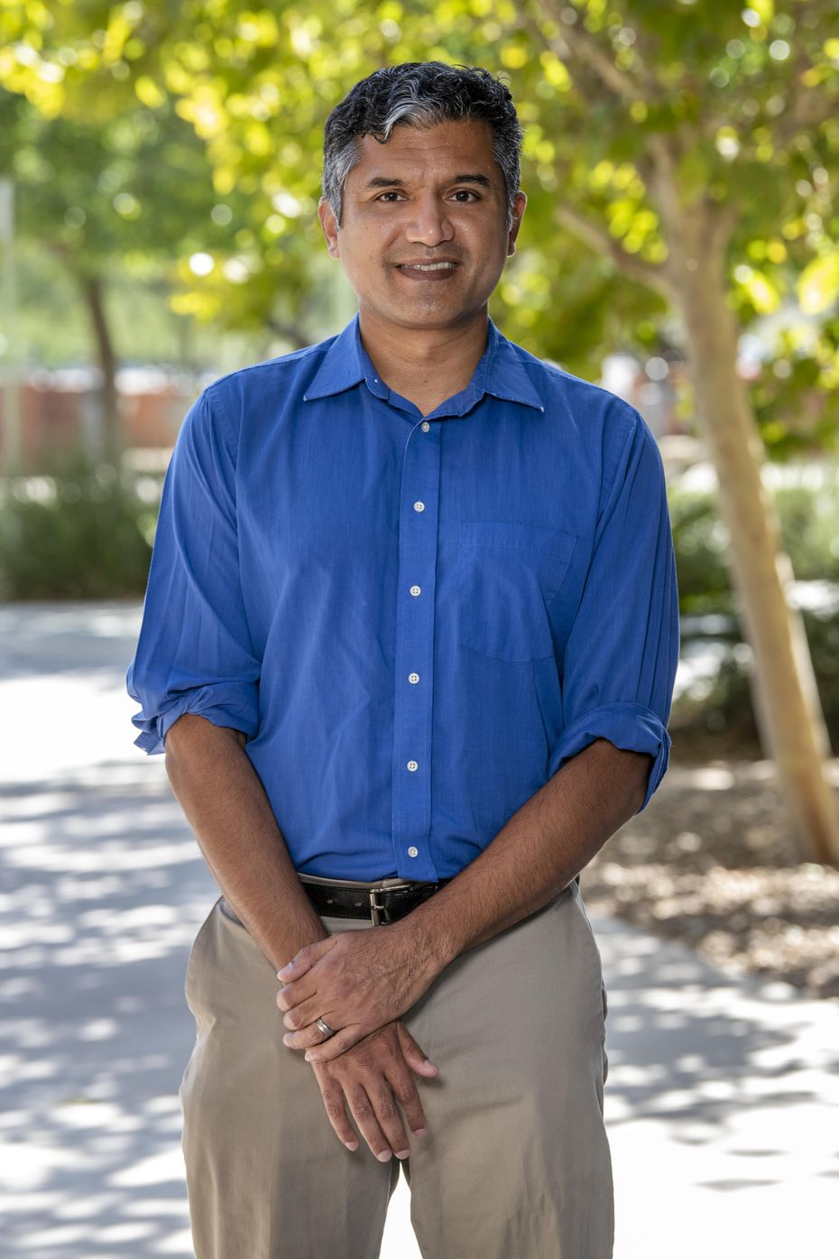 Deepta Bhattacharya, a professor of immunobiology at the University of Arizona College of Medicine.