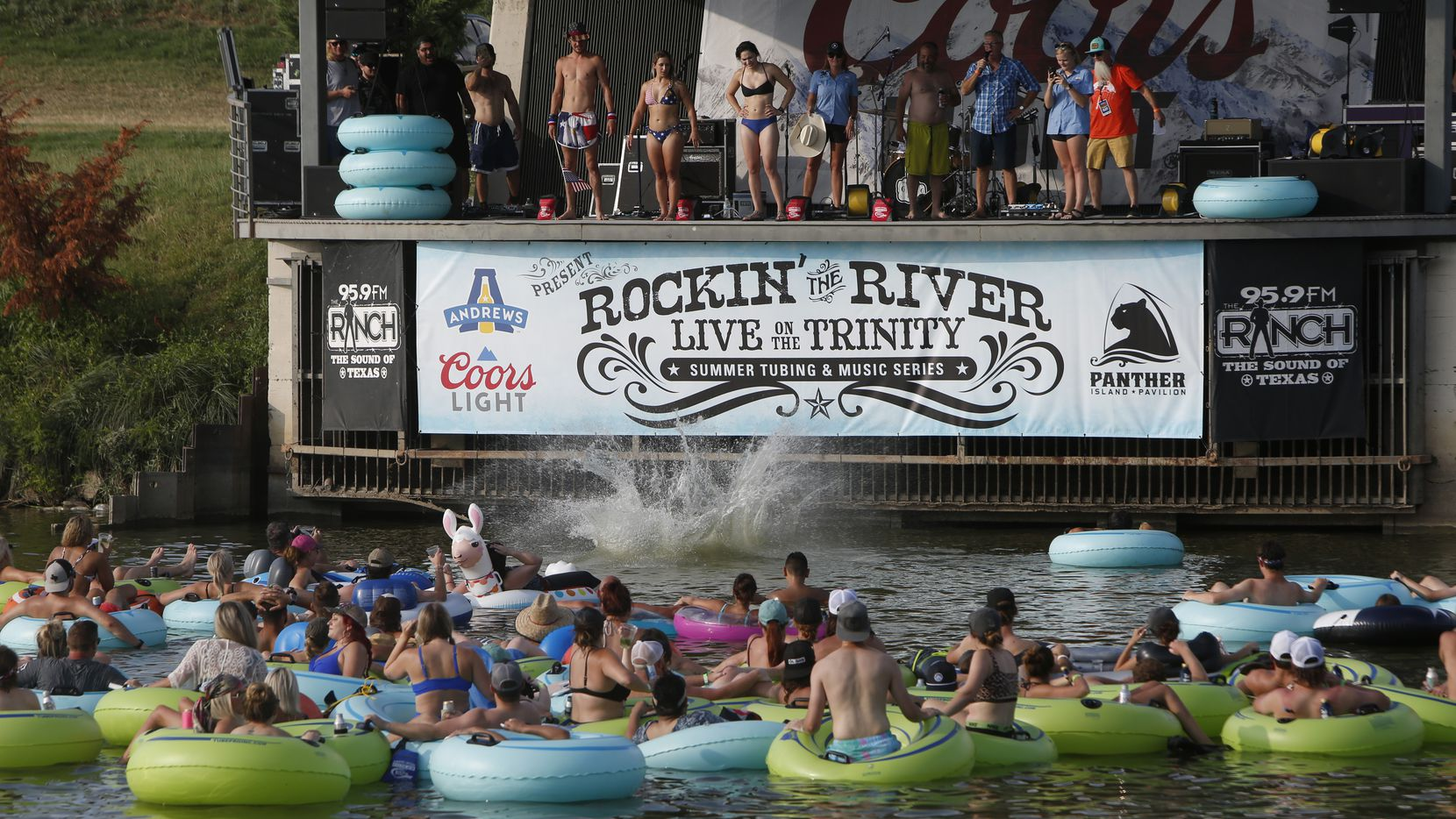The Rockin' the River series featuring Texas country musicians will come to a close Aug. 7 at Panther Island Pavilion in Fort Worth. But Sunday Fundays continue through Sept. 5 at the same location.