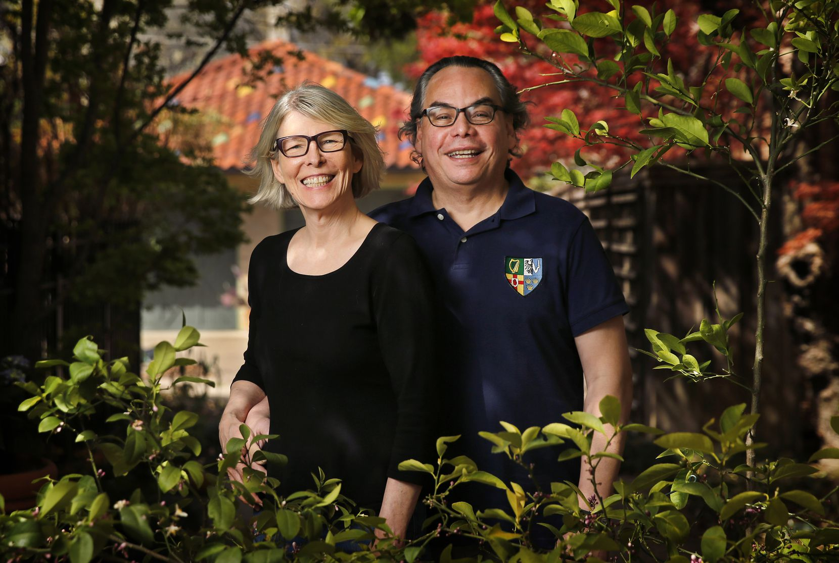 """Everything is fresh,"" says Dr. Otto Marquez of spring. ""The air smells of flowers, of different plants. ... It's a new start."" Marquez is pictured with his wife, Kim."