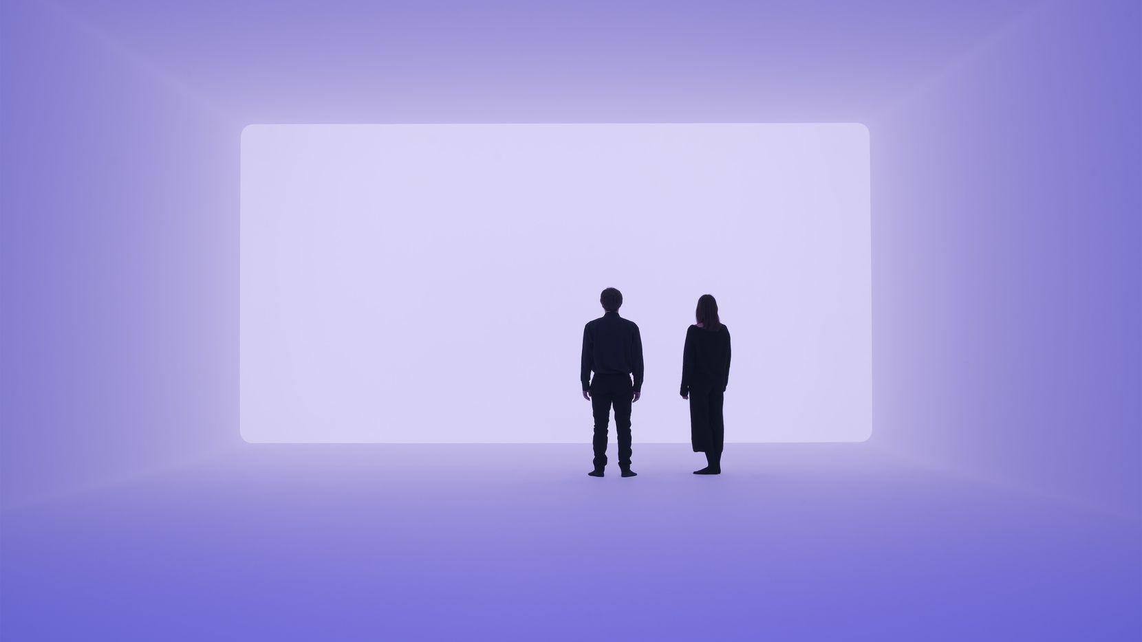 "James Turrell's Ganzfeld ""Aural"" is a 2018 work designed to foster a unique experience for each viewer."