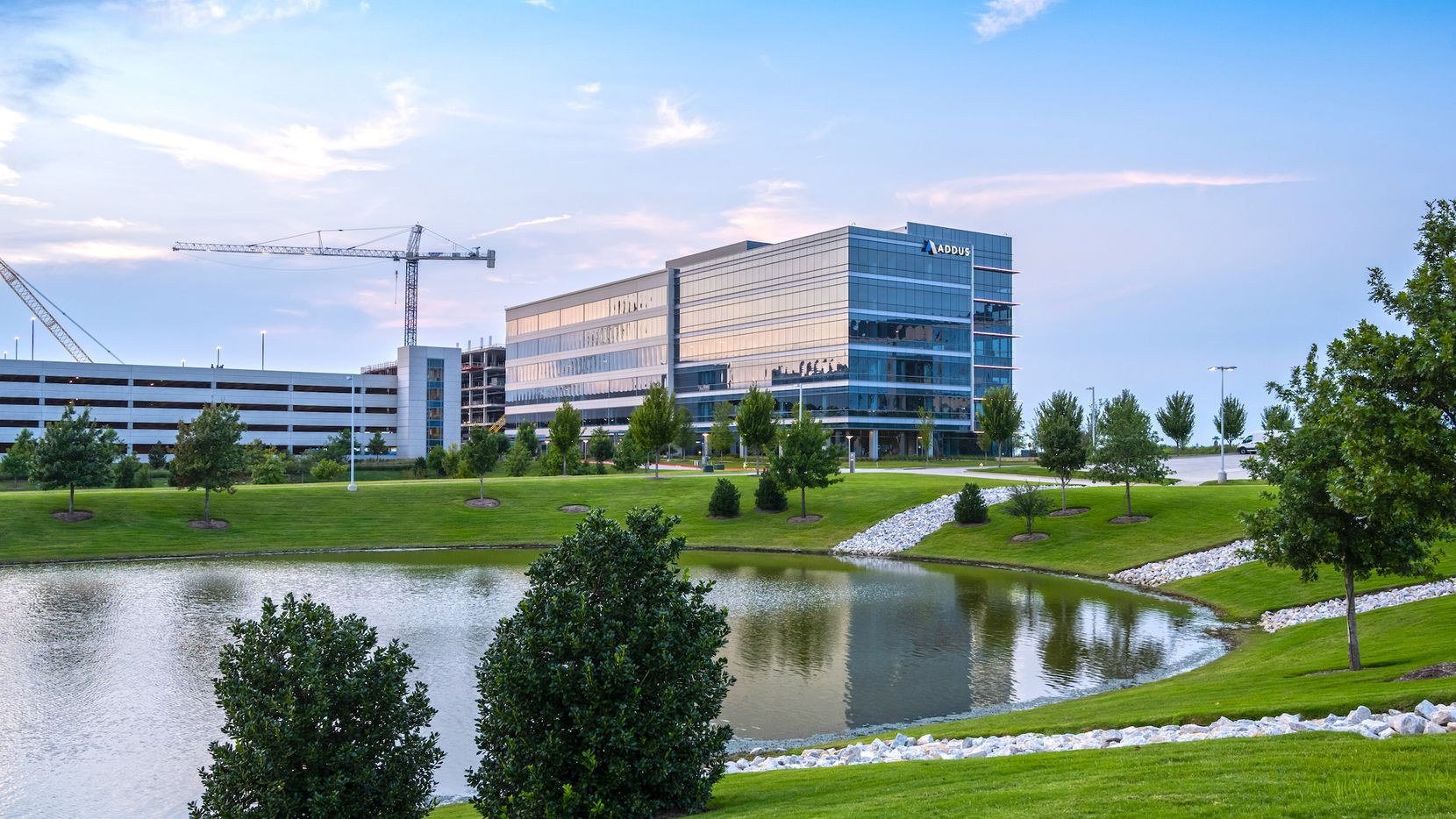 New leases are filing up the Frisco Station building.