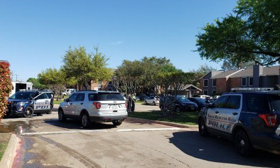 North Richland Hills police investigated a shooting Tuesday morning that left a man in critical condition on Northeast Loop 820.