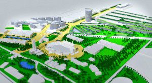 A look at what some folks at HKS once had in mind for Fair Park, because why not.