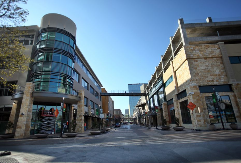 The Shops at Park Lane includes shops, restaurants, apartments and office space.