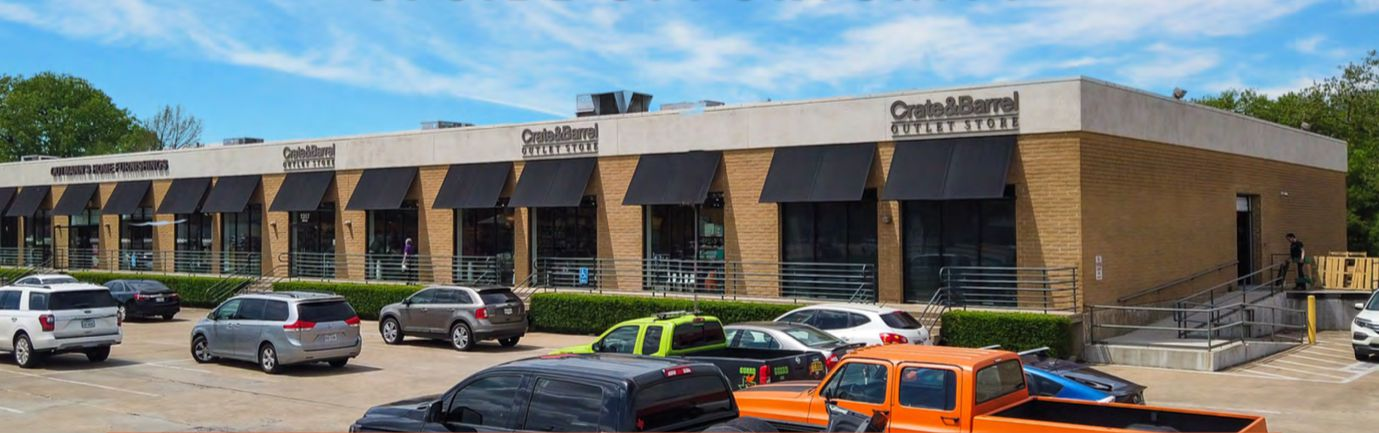 Inwood Center has more than a dozen retail and industrial buildings.