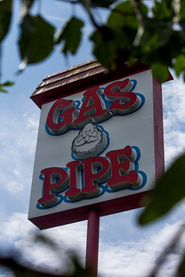 The Gas Pipe store at East R.L. Thornton Fwy & Grand Avenue in September, 2018 in Dallas.