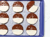 Black and white cookies in 'Jew-Ish: a Cookbook' by Jake Cohen