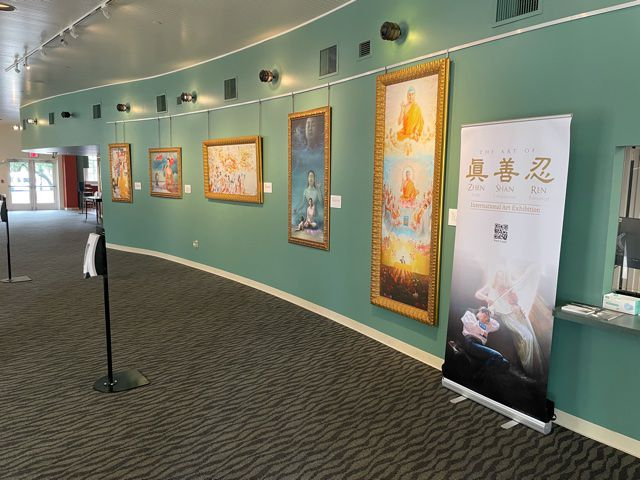 The Art of Zhen-Shan-Ren exhibit opened in Plano, Texas, on June 2, 2021. It gives a unique look into the spiritual discipline Falun Gong and an ongoing human rights crisis in China, organizers say. Featured in the exhibit are realistic oil paintings and Chinese watercolors — primarily by Chinese artists — depicting the persecution they have faced.