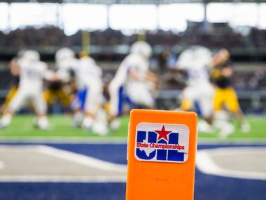 The UIL has suspended the start of the 2020 high school fall sports season for its two largest classifications. (File photo by Smiley N. Pool/The Dallas Morning News)