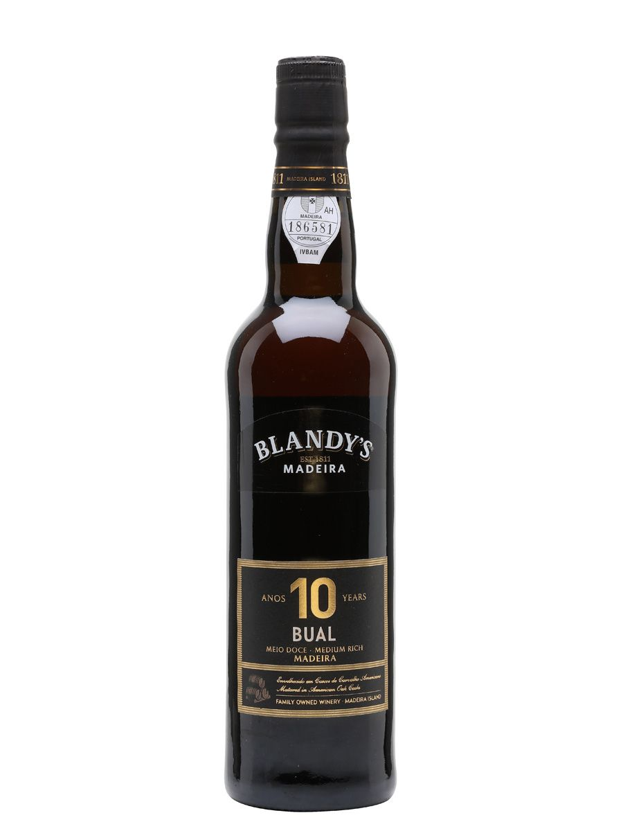 Blandy's Bual Madeira, 10-Year-Old, NV, Portugal