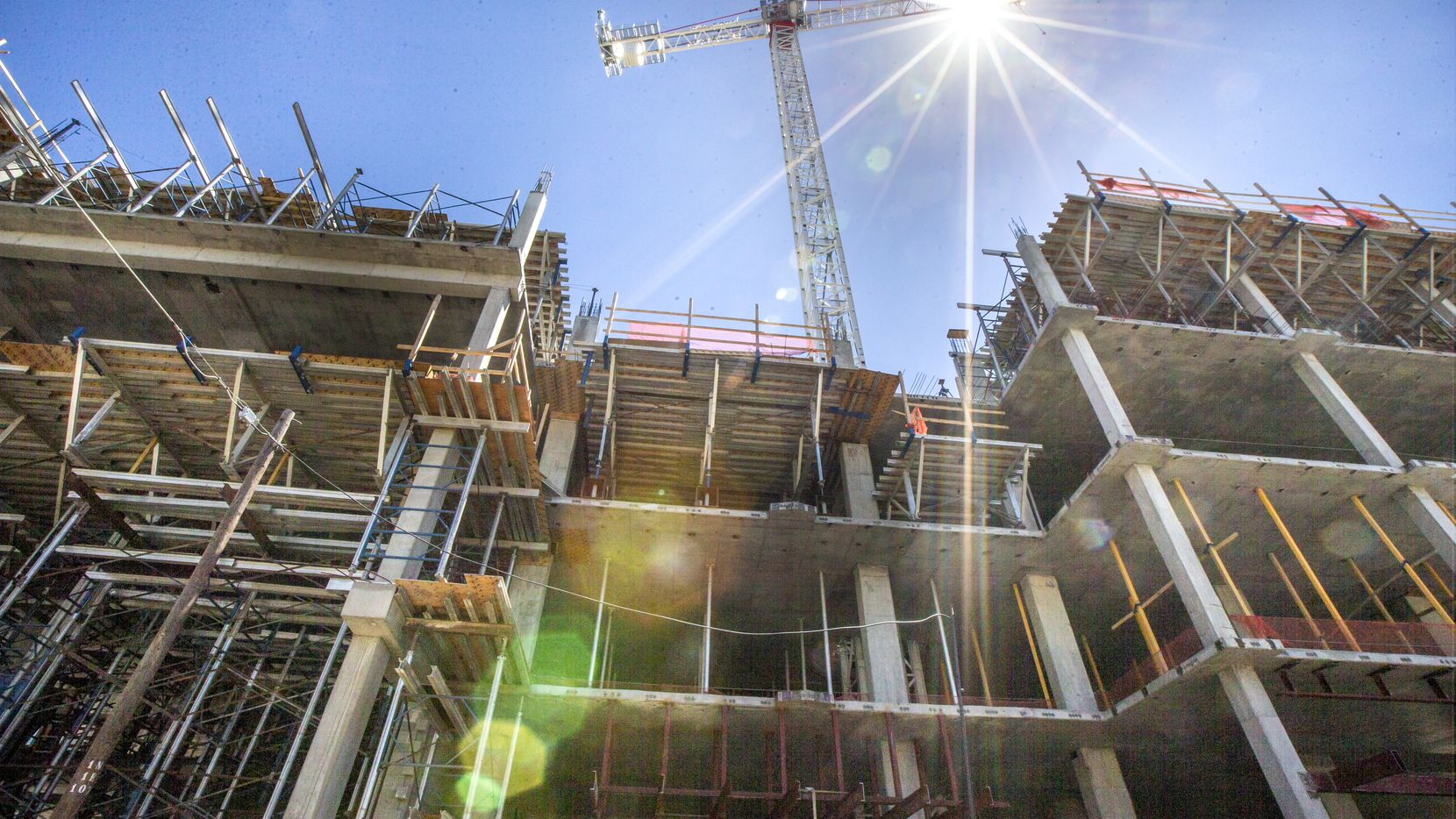 Dallas-Fort Worth construction employment rose in May.