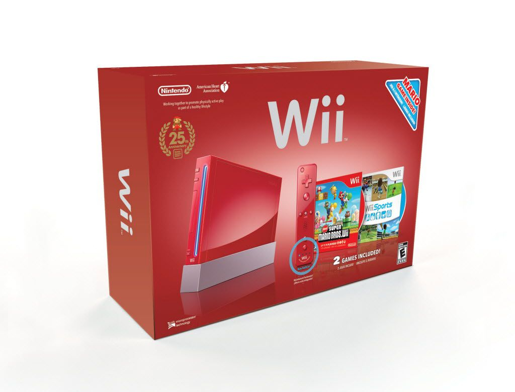 In this product image provided by Nintendo, the Nintendo Wii is displayed. (AP Photo/Nintendo) NO SALES