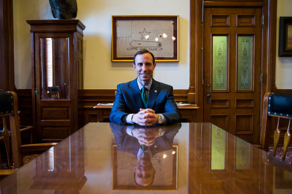 At age 36, Whitley directs 203 state employees and is a member of Gov. Greg Abbott's inner circle. Abbott aides say it's like a family.