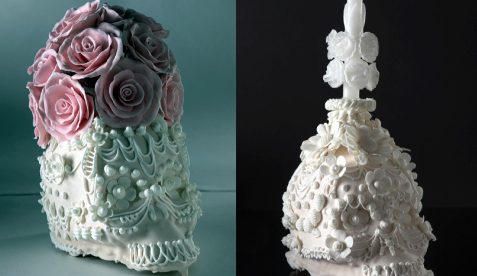 Los craneos, elaborados a partir de tres técnicas distintas, se deben conservar en bolsas contra la humedad en lugares frescos y secos para acompañar los altares y ofrendas del Día de Muertos.