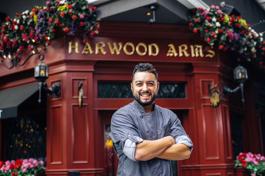 Executive chef Ryan York created the menu at Harwood Arms, a new pub in Dallas that opened in December 2020.