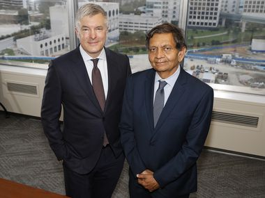 The rigorous national vetting process that took place before the Meadows Mental Health Policy Institute was awarded the Lone Star Prize brings validity to the standard of care advocated by, among others,   Andy Keller, left, president and CEO of the institute, and Madhukar Trivedi, director of the Center for Depression Research and Clinical Care at UT Southwestern. Keller and Trivedi were photographed on the UT Southwestern campus Saturday.