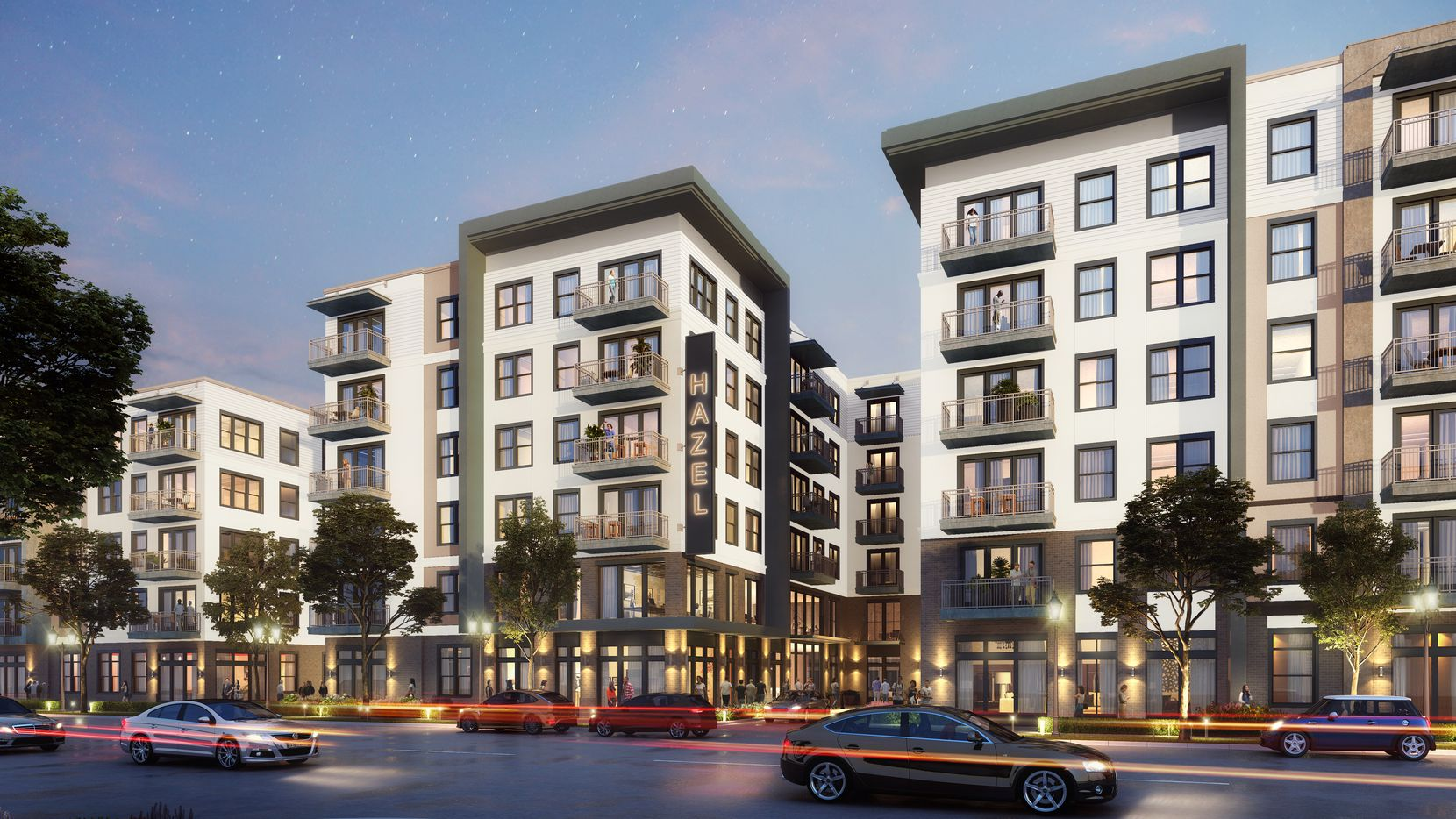 ZOM's planned apartment community is between the Dallas Galleria and the Valley View Mall site.
