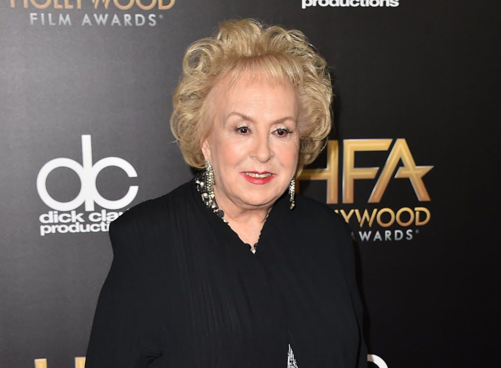 In this Nov. 1, 2015 file photo, Doris Roberts arrives at the Hollywood Film Awards in Beverly Hills, Calif.