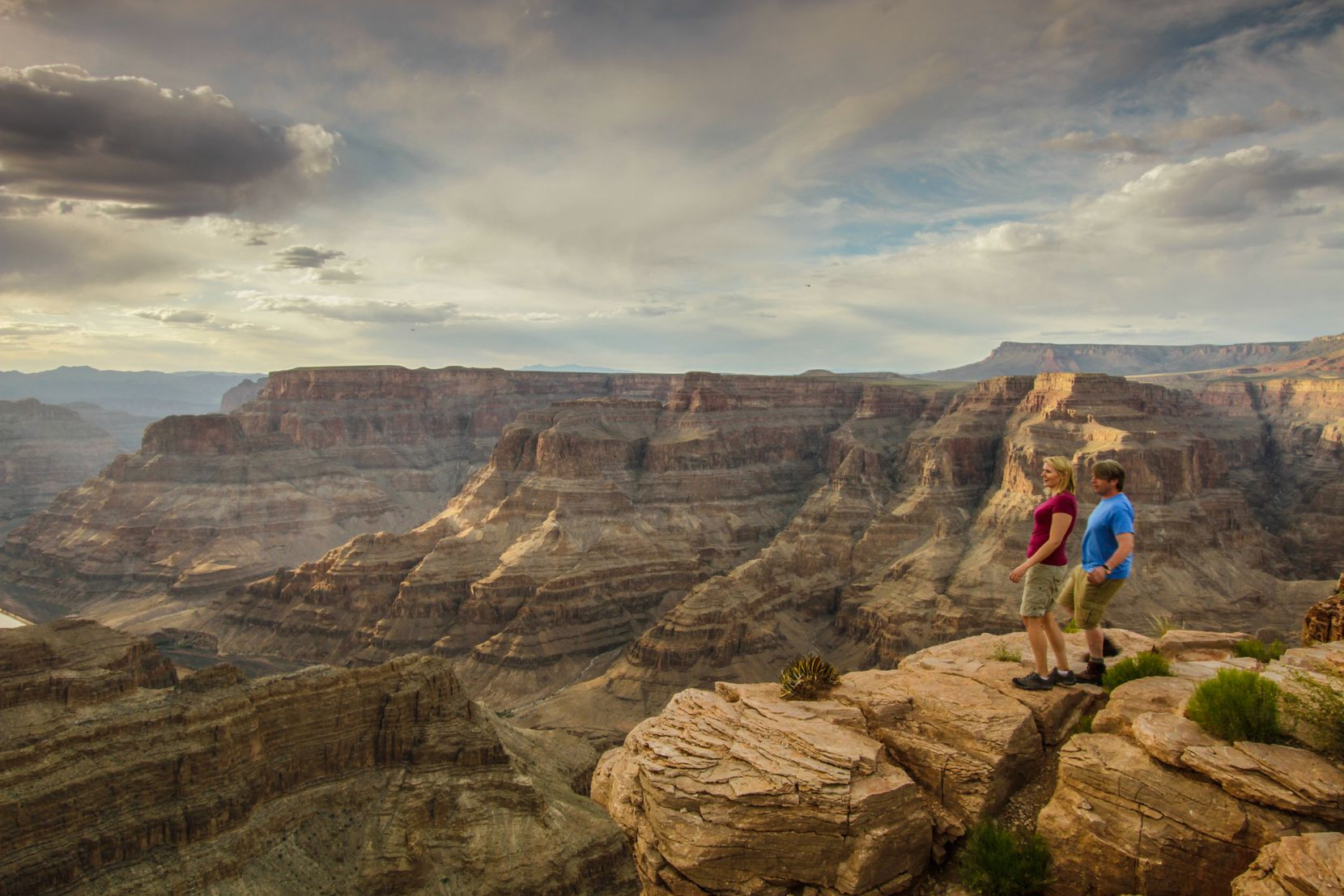 The Arizona National Scenic Trail traverses the Grand Canyon.