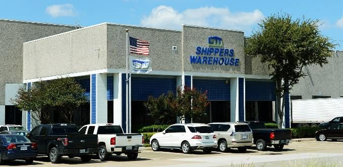 The warehouse near Loop 12 was built in 1987.