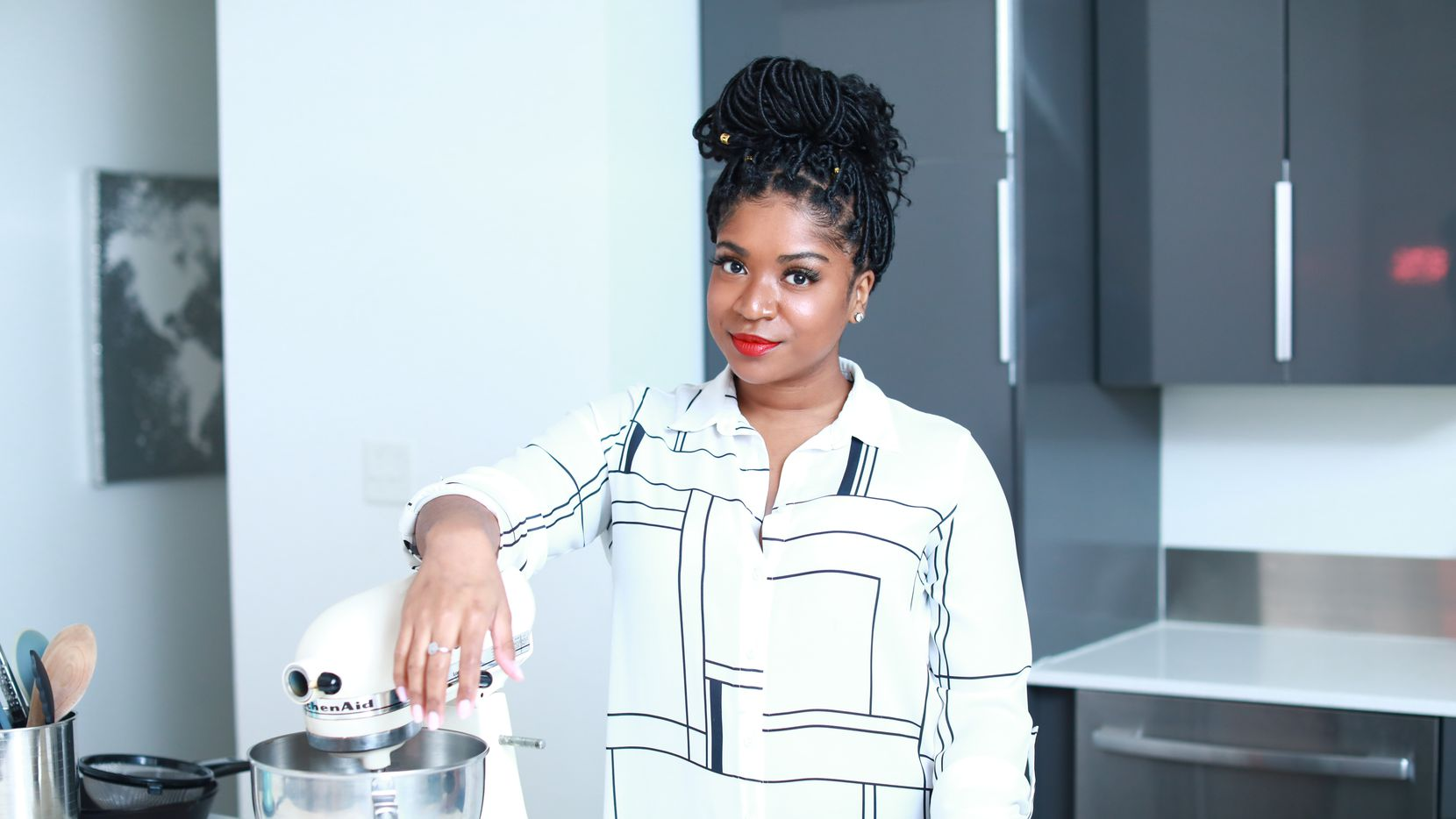 Private chef Gabrielle McBay of Dallas is author of 'You Have Food at Home.'