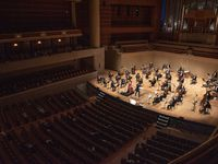 The Dallas Symphony Orchestra at the Morton H. Meyerson Symphony Center on Sept. 24, 2020.