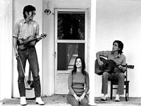 "Townes Van Zandt, Susanna Clark and Guy Clark are at the center of the love triangle depicted in the movie ""Without Getting Killed or Caught."""