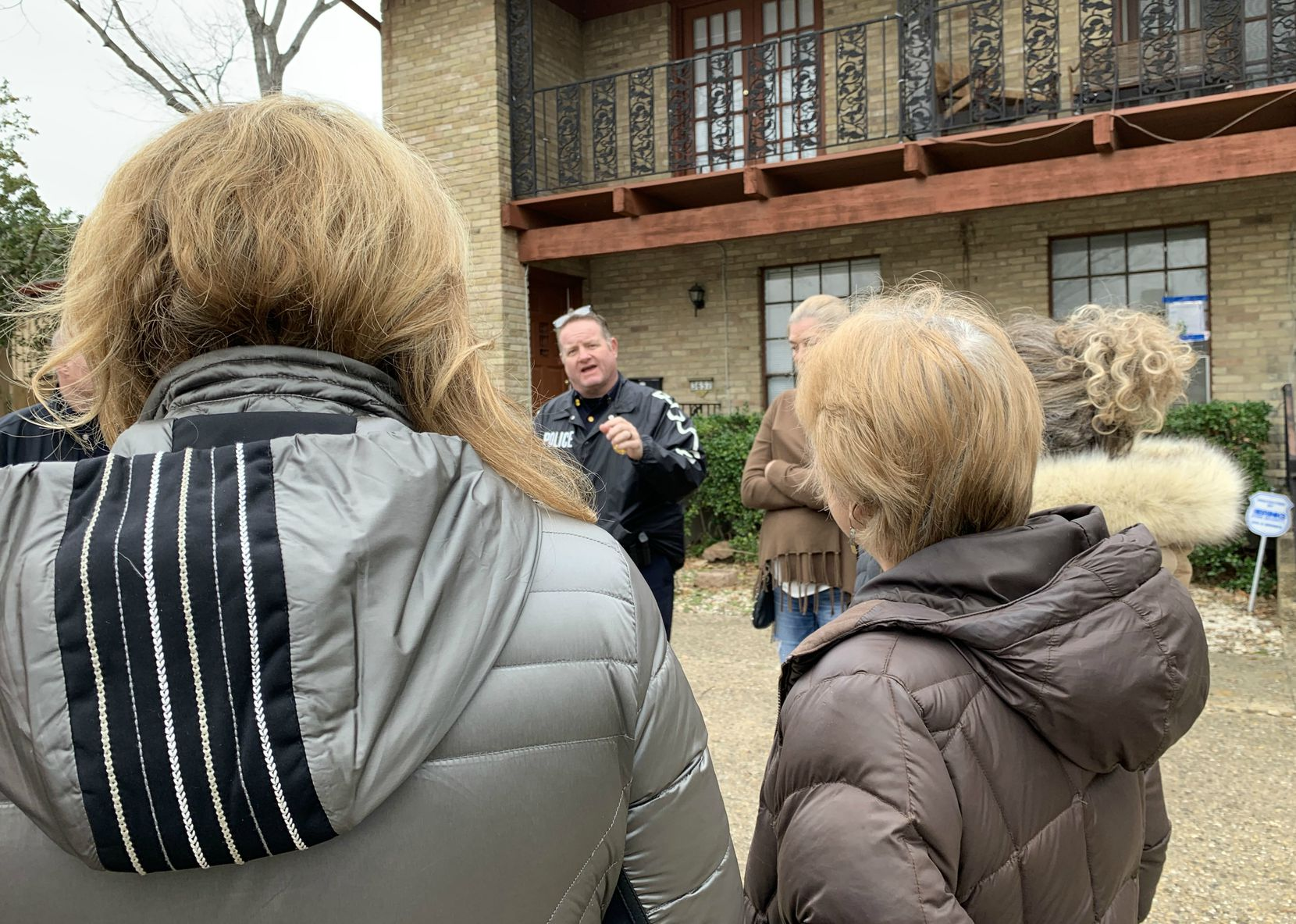 On Wednesday, Dallas Police Lt. Kevin Campbell reassured northwest Dallas residents that the department has not forgotten about residents living in tornado-damaged neighborhoods.