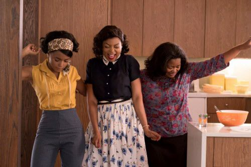 "(L-r) Janelle Monae, Taraji P. Henson and Octavia Spencer in ""Hidden Figures."" Hopper Stone, Twentieth Century Fox"