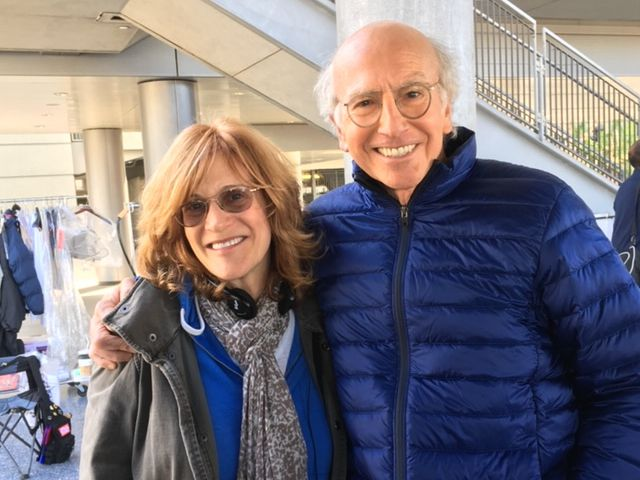 "Carol Leifer is a writer and consulting producer on ""Curb Your Enthusiasm,"" starring Larry David (shown here) who co-created ""Seinfeld."" Curb's new season begins on HBO on Jan. 19, 2020."