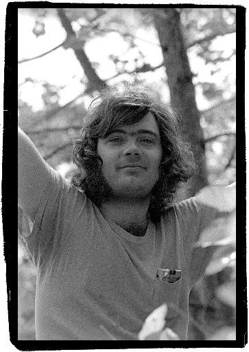 Undated photograph of Roky Erickson
